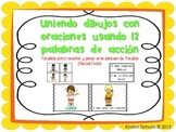 Matching Pictures with Sentences using action words (Spanish)