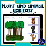 Matching Plant and Animal Habitats BOOM Cards