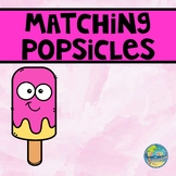 Matching Popsicles File Folder Game