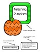 Matching Pumpkin Patterns