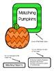 Matching Pumpkin Patterns