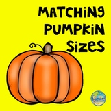Matching Pumpkin Sizes File Folder Game
