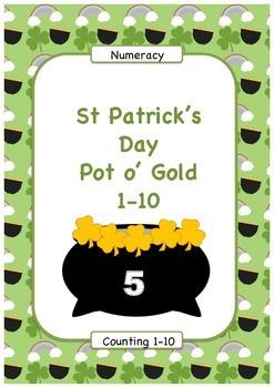 Matching Quantities Pot o' Gold
