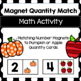 Matching Quantity Magnet for Preschool, PreK, Kinder and H