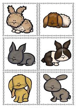 Matching Rabbits Matching Tasks