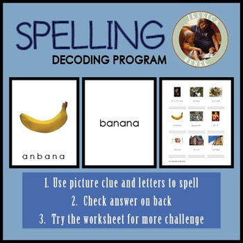 Decoding Phonics: Matching, Reading, Spelling Bundle