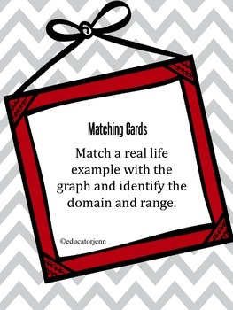 Matching Real Life Graphs Domain and Range included