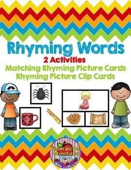 Matching Rhyming Words