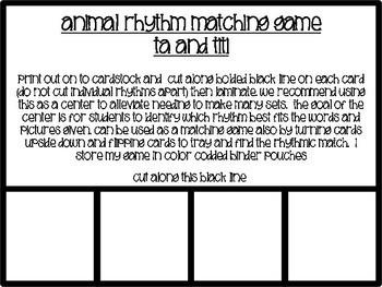 Matching Rhythm Game