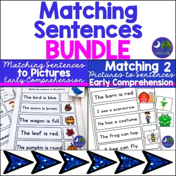 Matching Sentences to Pictures for Comprehension Bundle