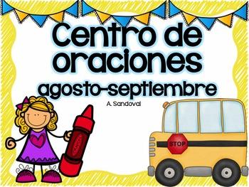 Matching Sentences in Spanish August-September