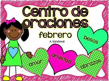 Matching Sentences in Spanish FEBRUARY