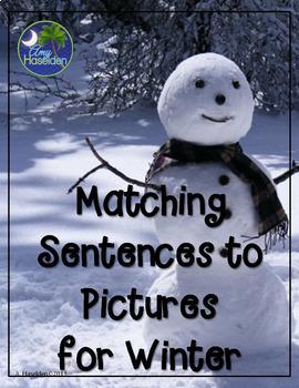 Matching Sentences to Pictures Growing Bundle 9 Units