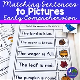Matching Sentences to Pictures: Early Comprehension Activity