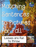Matching Sentences to Pictures Fall