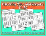 Matching Sets Worksheets 11-30