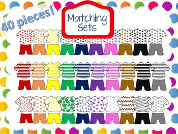 Matching Sets  clothes clipart