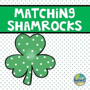 Matching Shamrocks File Folder Game