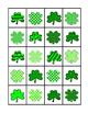 Matching Shamrocks File Folder Games