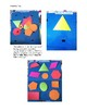 Matching Shapes File Folder Activity