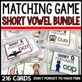 Matching Short Vowel Sounds GAMES BUNDLE