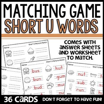Matching (Short u)