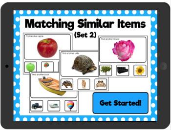 Matching Similar Items Set 2: Interactive PDF