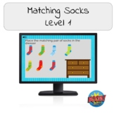 Matching Socks- Daily/ Independent Living Skills Boom Card