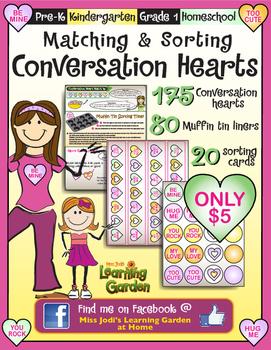 Matching & Sorting Conversation Hearts