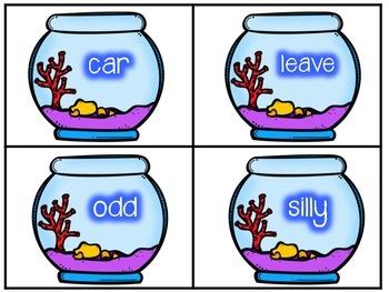Matching Synonym Fish Game