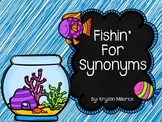 Matching Synonym Fish Game
