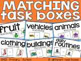 Matching Task Boxes {for students with special needs}