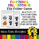 Folder Game: Functional Fall Matching for Students with Autism & Special Needs