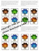 Matching Folder Game: Simple Turkey Colors for Early Child