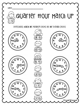 Matching Time to the Quarter