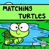 Matching Turtles File Folder Game