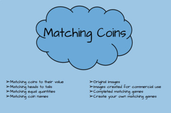Matching United States Coins Games