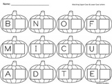 Matching Upper and Lower Case Letters