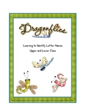 Matching Upper and Lower Case Letters  ( Dragon Flies)