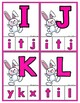 Spring/Easter Clip Cards - Matching Uppercase to Lowercase