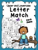 Matching Upper and Lower Case Letters - cut and paste