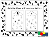 Matching Upper- and Lowercase Letters (Rain)