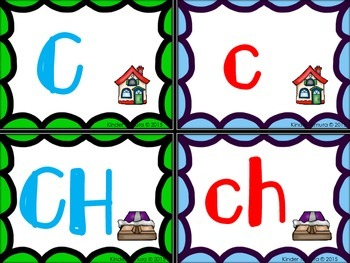 Matching Upper and Lowercase Letters from Aa-Zz (Spanish)