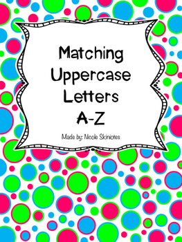 Matching Uppercase Letters