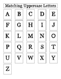 Matching Uppercase Letters for Early Learners with Autism