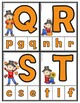 Matching Uppercase & Lowercase Letters for Fall