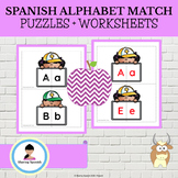 Matching Uppercase and Lowercase Spanish Letters
