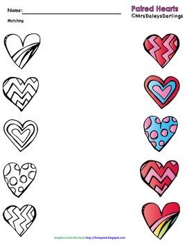 Matching - Valentine's Day