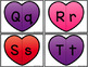 Matching Valentines - Letter Identification