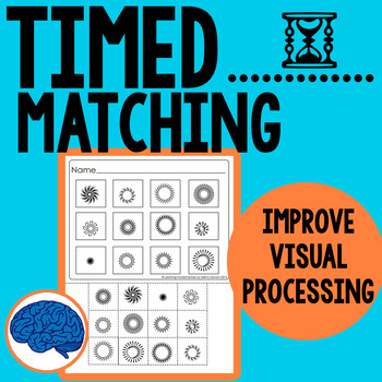 Improve Visual Discrimination & Processing --  Matching Cut & Paste